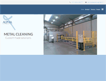 Tablet Preview of metal-degreasing.co.uk